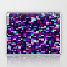 Noise pattern - blue/purple Laptop & iPad Skin