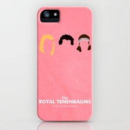 The Royal Tenenbaums iPhone Case