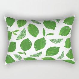 Cut + Paste Lime Pattern Rectangular Pillow