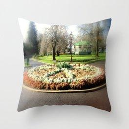 Botanical Gardens - Australia Throw Pillow