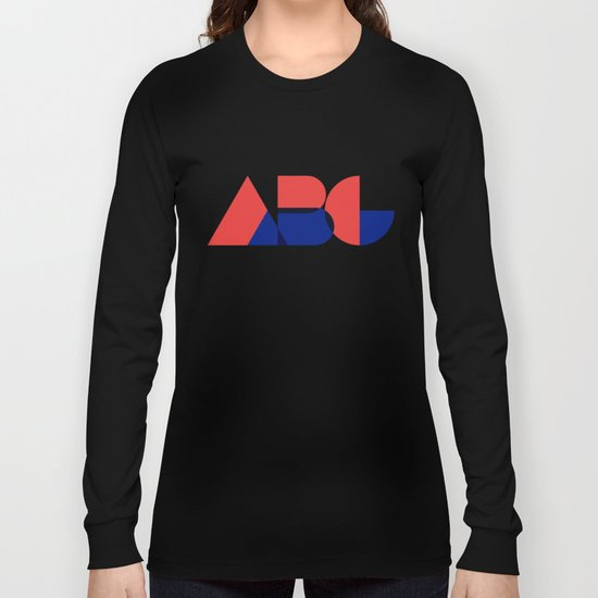 Geometric ABC Long Sleeve T-shirt