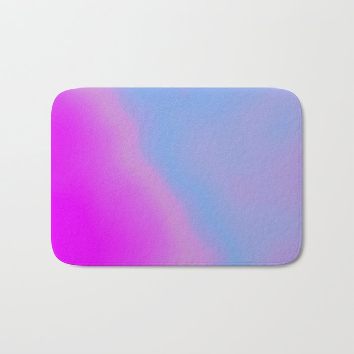 pink blue purple Bath Mat