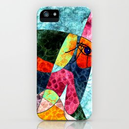 The laughing horse iPhone Case