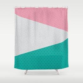 Memphis Patterns Shower Curtain