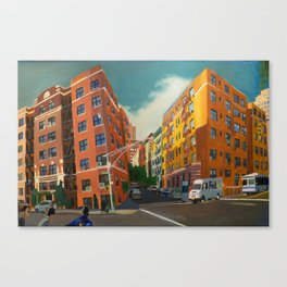 AFTERNOON NEW YORK Canvas Print