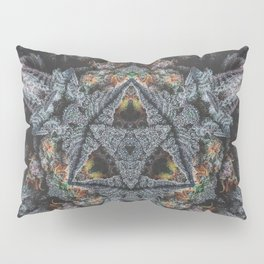 Purple Black Lime Pillow Sham