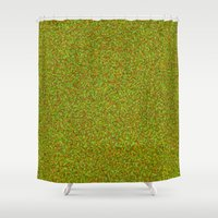 camo Shower Curtains featuring camo by ecceGRECO