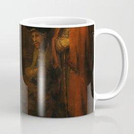 "Rembrandt Harmenszoon van Rijn, ""The Return of the Prodigal Son"", c. 1669 Coffee Mug"
