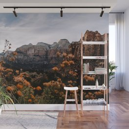 Zion Canyon through the Flora Wall Mural
