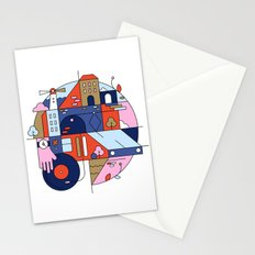 City Tram Stationery Cards