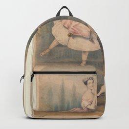 Bouvier J Artist TaglioniMarie Taglioni and Signor Guerra facsimile signatureAdditional Ombre Backpack
