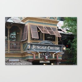 Jungle Cruise Canvas Print