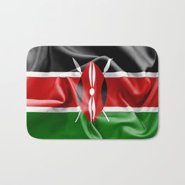 Kenya Flag Bath Mat