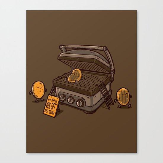 PANCAKES!! Canvas Print