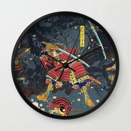 Bravery-Beauty Wall Clock