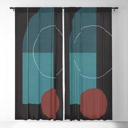 Elegant Geometry 27 Blackout Curtain