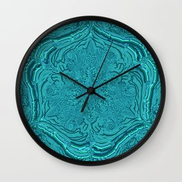 labyrinthe- holy geometry-hand painted Wall Clock