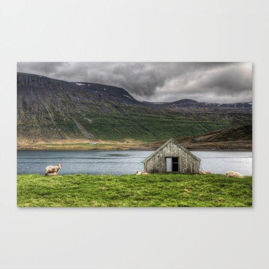Sheepfold Canvas Print