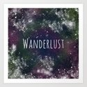 Wanderlust - Space by claunchdesign