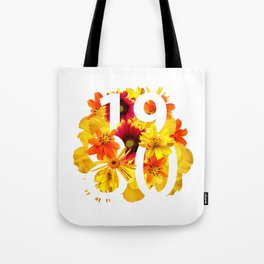 Flower 1980 Tote Bag