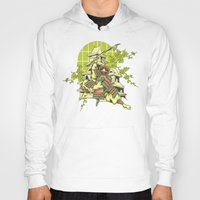 asian Hoodies featuring Asian spring by Tshirt-Factory