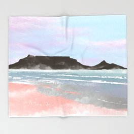 Table Mountain Throw Blanket
