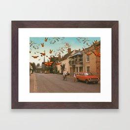 Monarchy  Framed Art Print