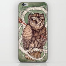 Wisdom Wounded by Folly iPhone & iPod Skin