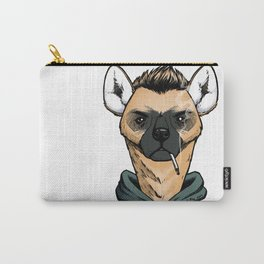 Smoking Hyena Carry-All Pouch