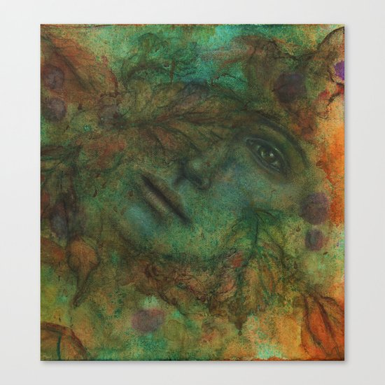Come Autumn's Scathe Canvas Print