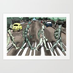 Turtles 3 ... Art Print