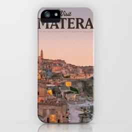 Visit Matera iPhone Case