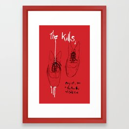The Kills Framed Art Print
