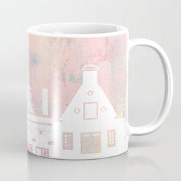 Amsterdam Netherlands Row Houses Coffee Mug