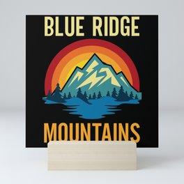 Blue Ridge Mountains Sunset Mini Art Print