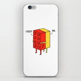 I'll Never Le Go iPhone Skin