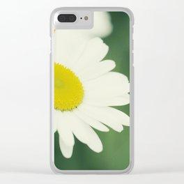 Fleurs sur le pré Clear iPhone Case