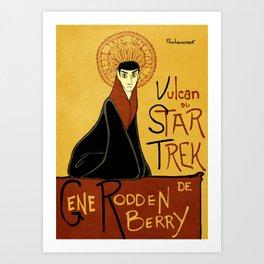 Vulcan du Star Trek Art Print