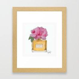 EAU DE PARFUM V.3 Framed Art Print