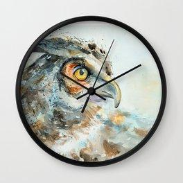 Predatory bird Wall Clock