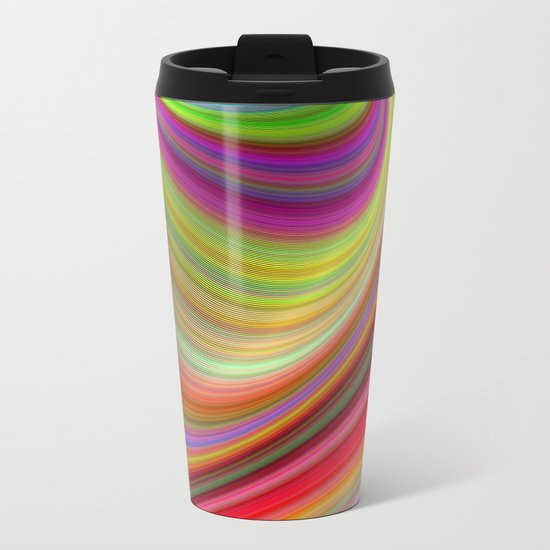 Illusion Metal Travel Mug