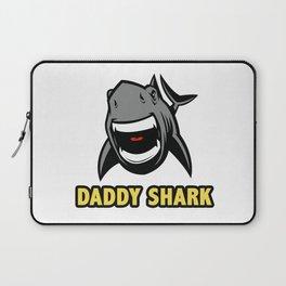 Daddy shark Laptop Sleeve