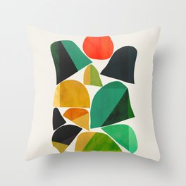 Mountains as the giants Throw Pillow