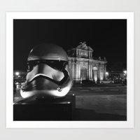 Imperial Madrid Art Print
