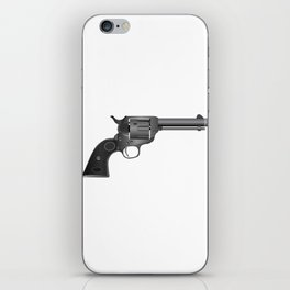 Six Gun iPhone Skin