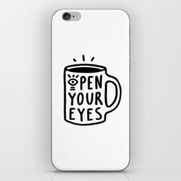 Open Your Eyes iPhone Skin