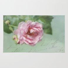 little pink rose Rug