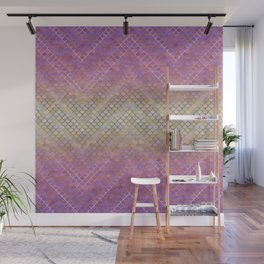 MERMAID SCALES PINK OMBRE Wall Mural