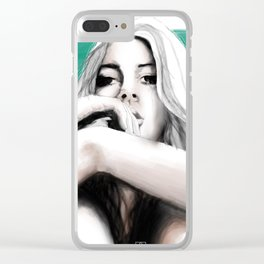 mirada Clear iPhone Case