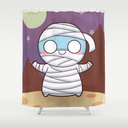 Tootmownu The Mummy Shower Curtain